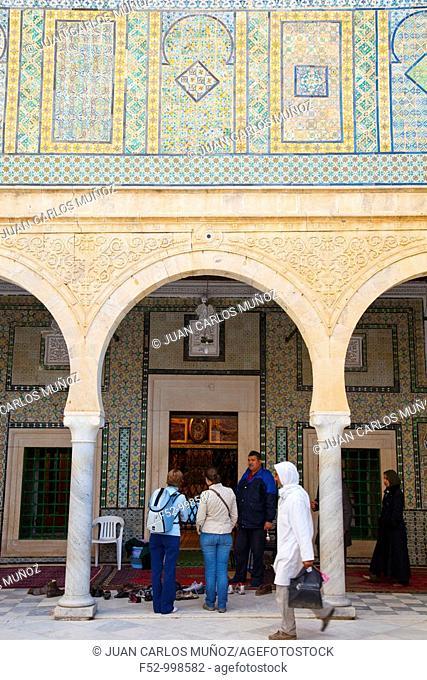 The mausoleum of Abou Zoma Balaoui. 'El Barbero'. Kairouan.Tunez. Africa