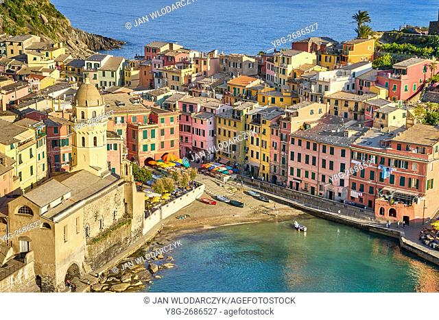 Vernazza, Riviera de Levanto, Cinque Terre, Liguria, Italy