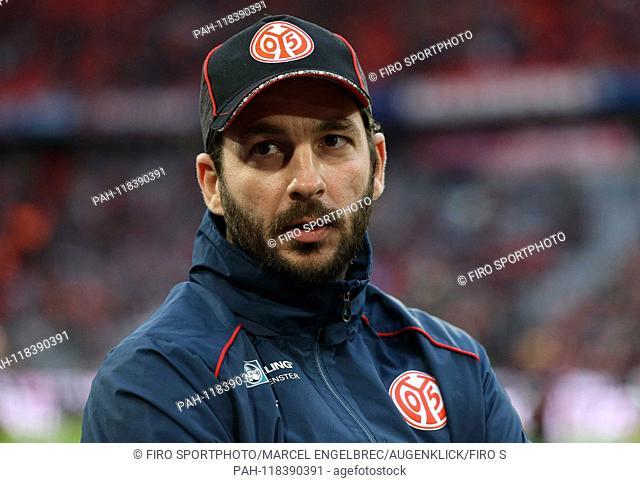 firo: 17.03.2019, Fuvuball, 1.Bundesliga, season 2018/2019, FC Bayern Munich - 1. FSV FSV FSV Mainz 05, coach Sandro Schwarz, 1