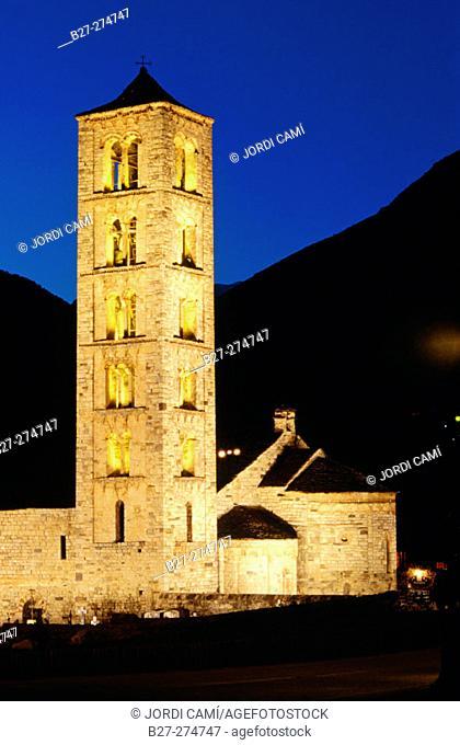 Church of Saint Climent. Taul. Lleida province. Catalonia. Spain