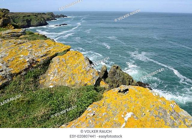 Küste der Ile de Groix, Bretagne