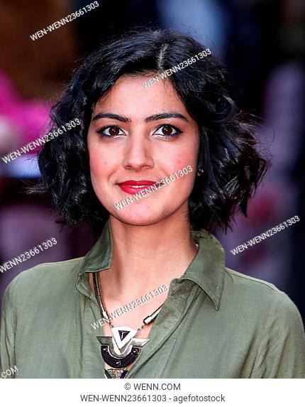 Arrivals for the Jameson Empire Awards 2016 at the Grosvenor House Hotel Featuring: Rakhee Thakrar Where: London, United Kingdom When: 20 Mar 2016 Credit: WENN