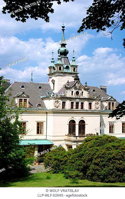 Velke Brezno Chateau, Usti nad Labem Region, Czech Republic