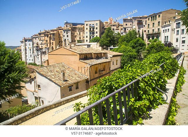 Overview of the Rascacielos. Cuenca, Spain