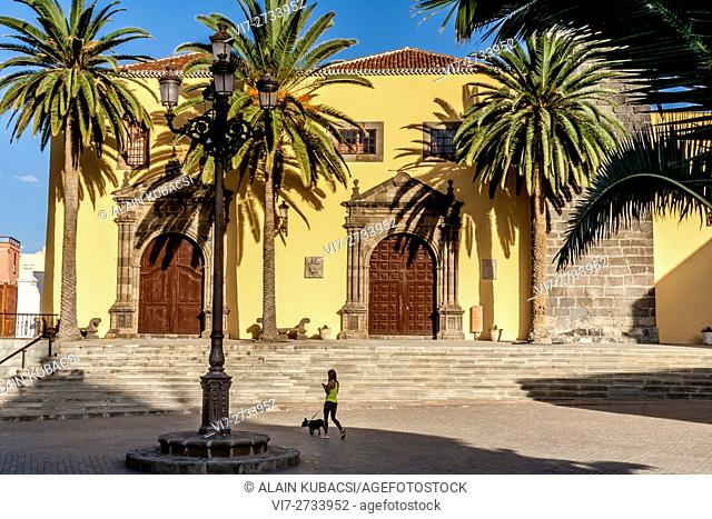 Nuestra Senora de los Angeles Church, Garachico, Tenerife, Canary Islands, Spain