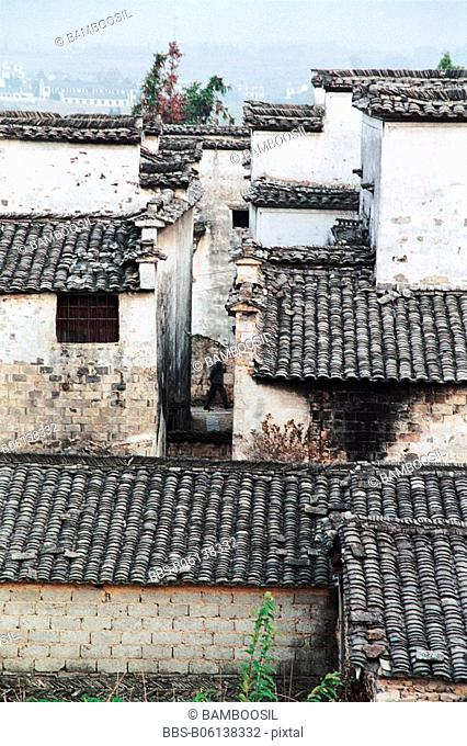 Residence in Ancient Pingshan Village, Yixian County, Anhui Province, People's Republic of China