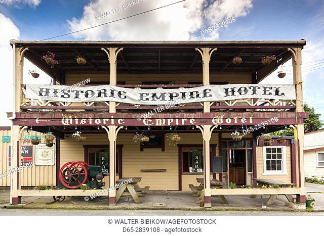 New Zealand, South Island, West Coast, Ross, Empire Hotel