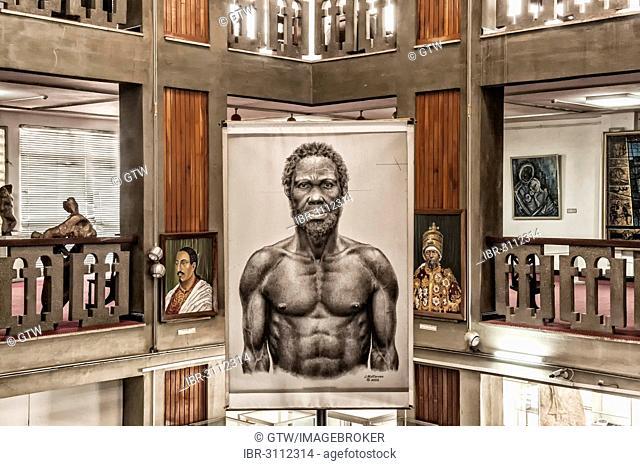Image of Homo sapiens idaltu, National Museum of Ethiopia, Addis Ababa, Oromia Region, Ethiopia