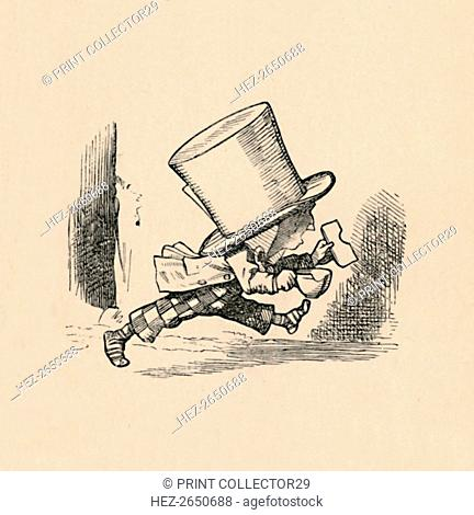 'The Mad Hatter, in the chapter 'The Tarts', 1889. Artist: John Tenniel