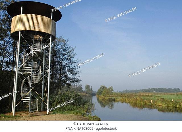 De Wieden, 't Eiland, Giethoorn, Overijssel, The Netherlands, Holland, Europe