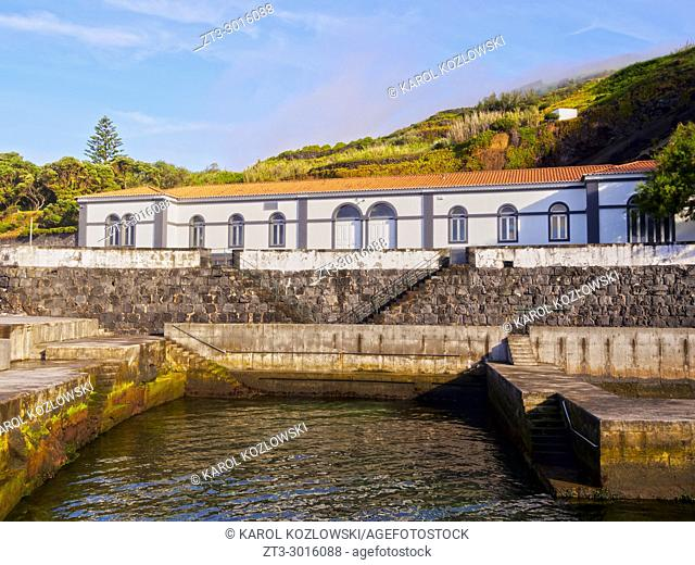 Termas do Carapacho, spa, Graciosa Island, Azores, Portugal
