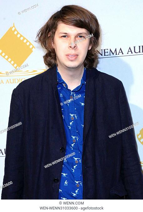 53rd Annual Cinema Audio Society (CAS) Awards at Omni Los Angeles Hotel at California Plaza - Arrivals Featuring: Matthew Cardarople Where: Los Angeles