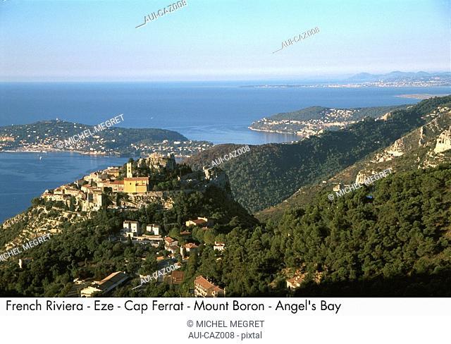 French Riviera - Eze - Cap Ferrat - Mount Boron - Angel's Bay