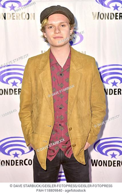 Tom Glynn-Carney at the Photocall for the movie 'Tolkien' at WonderCon 2019 at the Anaheim Convention Center. Anaheim, 29.03.2019   usage worldwide
