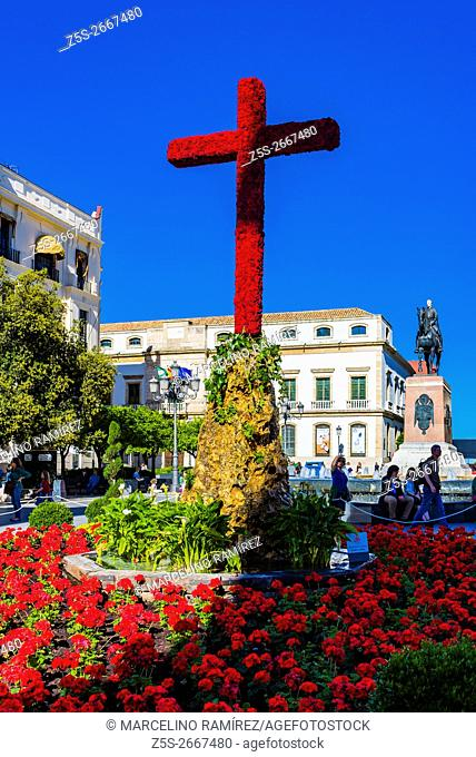 Plaza de Las Tendillas. The May Crosses Festival, Cruces de Mayo, is celebrated in many parts of the world. The festival holds special importance in Córdoba