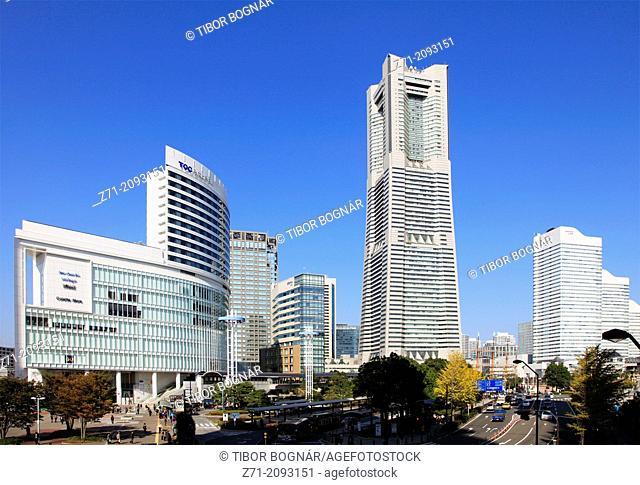 Japan, Yokohama, Minato Mirai, Landmark Tower,