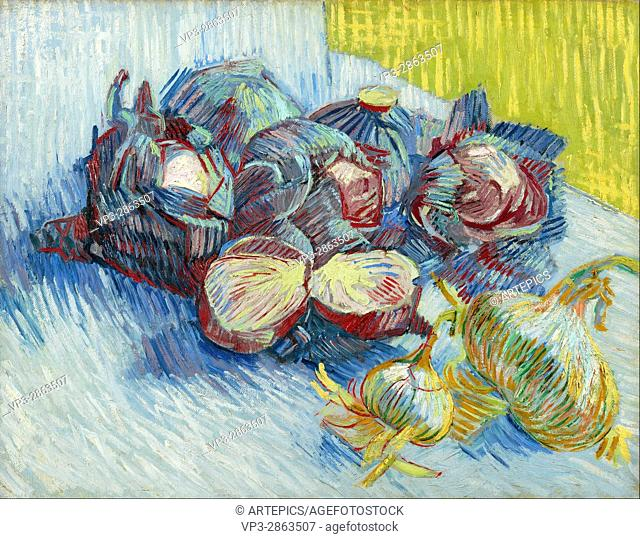 Vincent van Gogh - Red cabbages and onions - Van Gogh Museum, Amsterdam