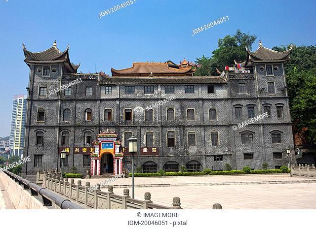 China, Chongqing, Nanbin Road, Chiyun Temple