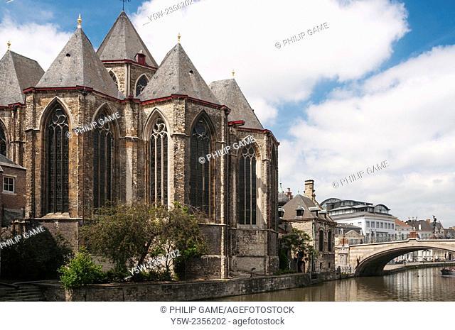 St-Michielskirk, St Michaels Church, Ghent, Flanders, Belgium