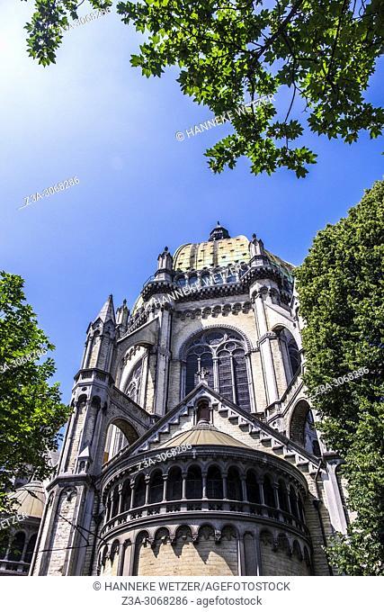 Saint Mary's Royal Church is a Roman Catholic parish church located on the Place de la Reine/Koninginneplein in the Brussels municipality of Schaerbeek