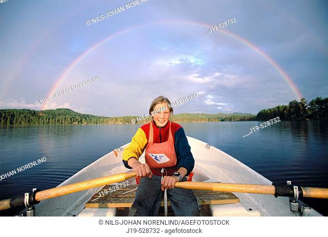 Rowing. Sweden
