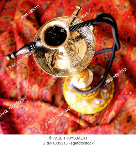 Ramadan: Shisha (water pipe) is smoked after Iftar (fast-breaking meal in the evening)
