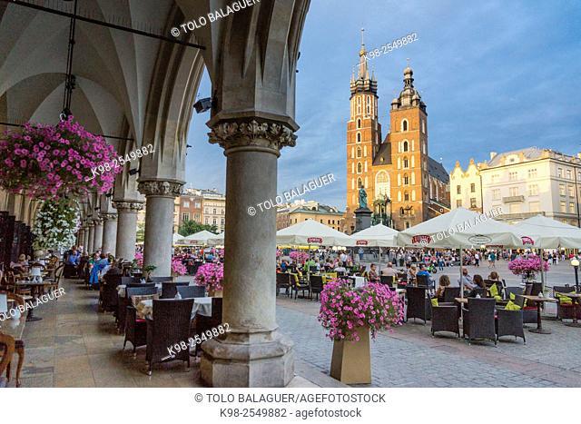 basílica de Santa María -iglesia de la Asunción de la Santísima Virgen María-, estilo gotico, Kraków, Poland, Eastern Europe