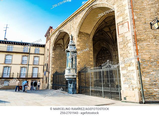 The church of St. Michael the Archangel, San Miguel Arcángel, is a Gothic-Renaissance temple built in the fourteenth century