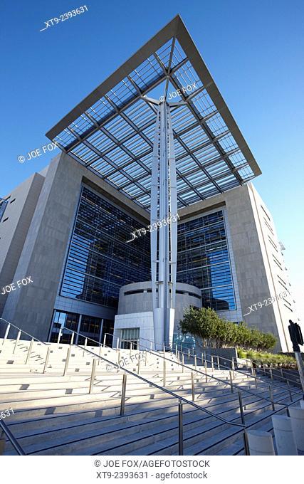 the lloyd d george federal united states courthouse Las Vegas Nevada USA