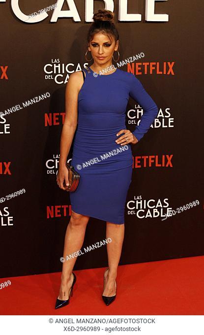 Premiere of the Netflix series Las chicas del cable.Monica Cruz.Madrid. 27/04/2017.(Photo by Angel Manzano).