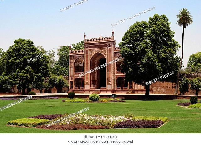 Entrance gate of a mausoleum, Itmad-ud-Daulah's Tomb, Agra, Uttar Pradesh, India