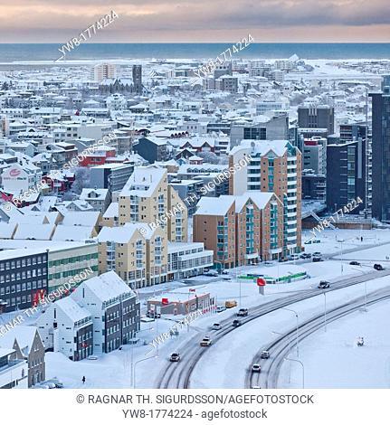 Winter, Reykjavik Iceland
