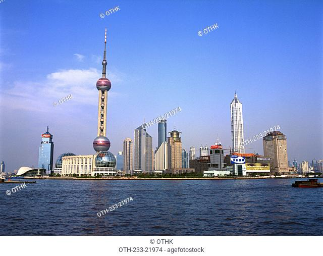 Pudong from the Bund, Shanghai, China