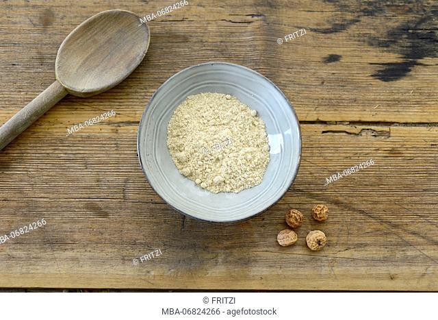 Earth almond flour, earth almonds, scarfs, flour