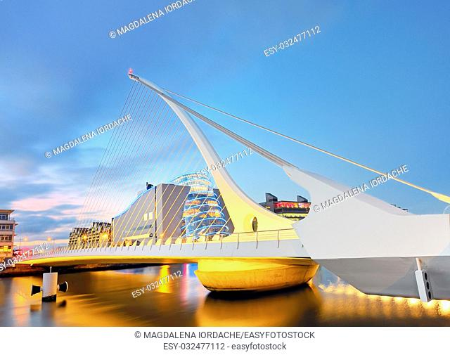 THE SAMUEL BECKETT BRIDGE from dublin