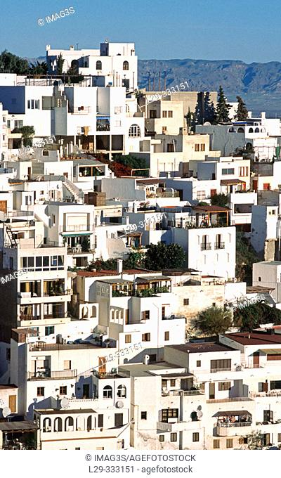 View of Mojacar. Almería Province. Andalusia. Spain