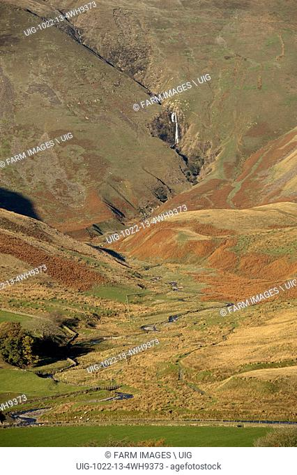 Cautley Spout in the Howgill Fells, near Sedbergh, Cumbria, UK. (Photo by: Wayne Hutchinson/Farm Images/UIG)