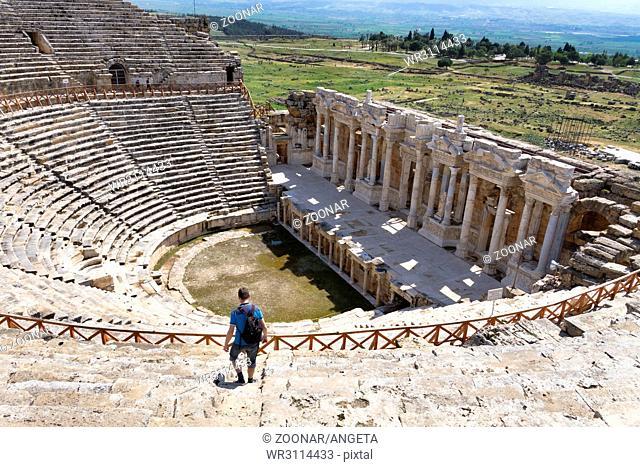 amphitheatre Hierapolis Turkey