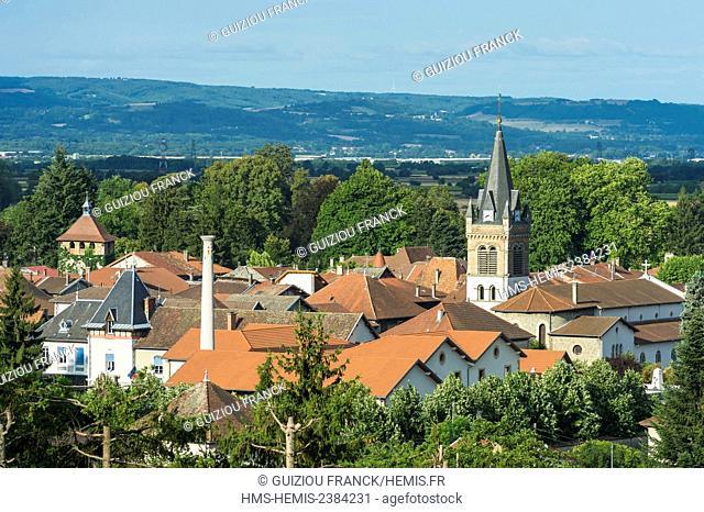France, Isere, Les Terres Froides, Le Grand Lemps, Saint Jean Baptiste church