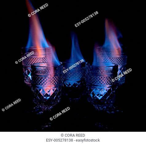 Drinks on Fire