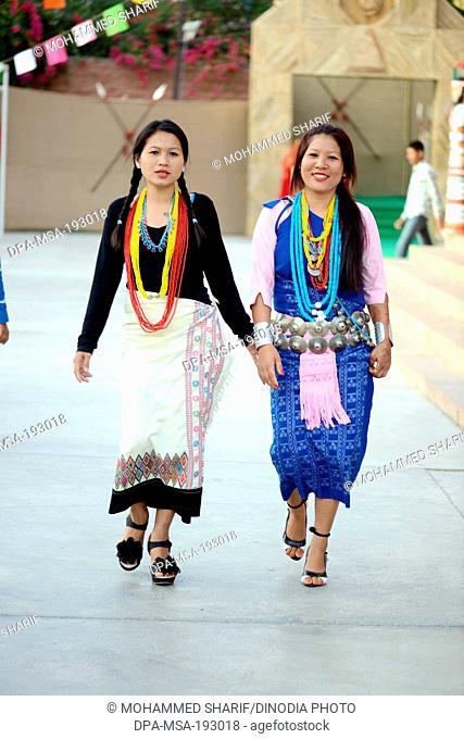 Nyishi tribe women, arunachal pradesh, india, asia, mr#786