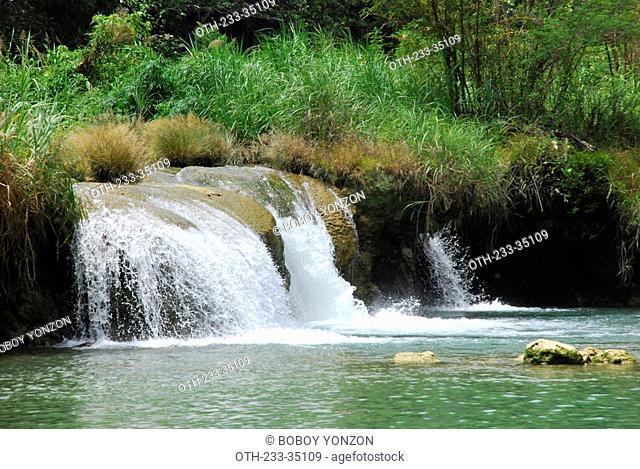 Waterfall, Bohol, Philippines
