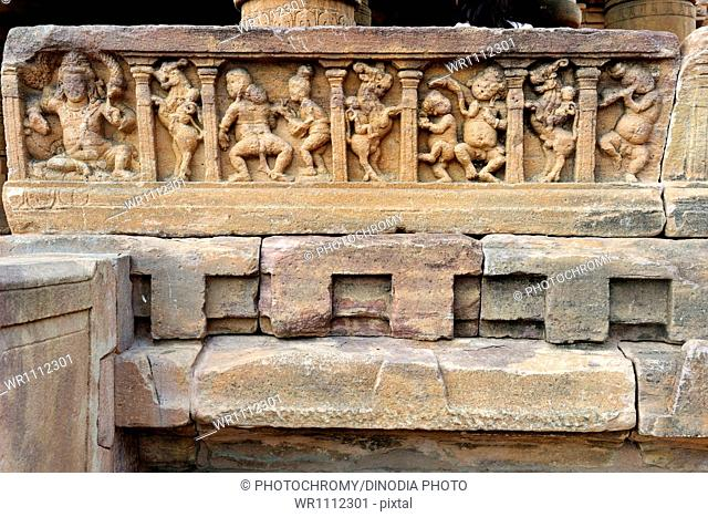 Jain Temple Pattadakal Badami Karnataka India Asia October 2010