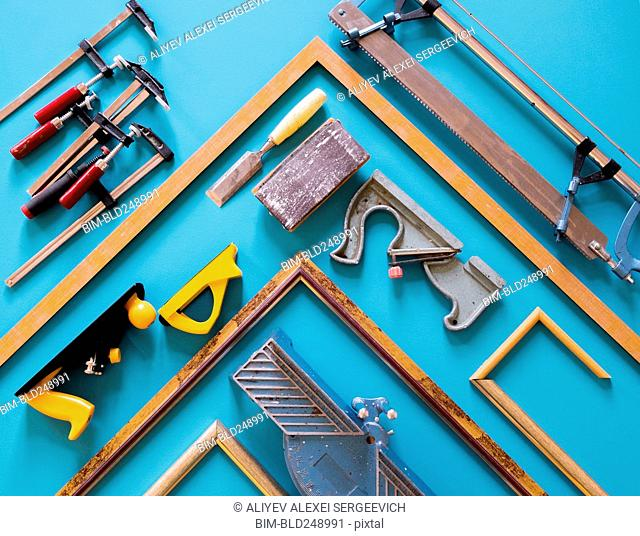 Tools and picture frame parts