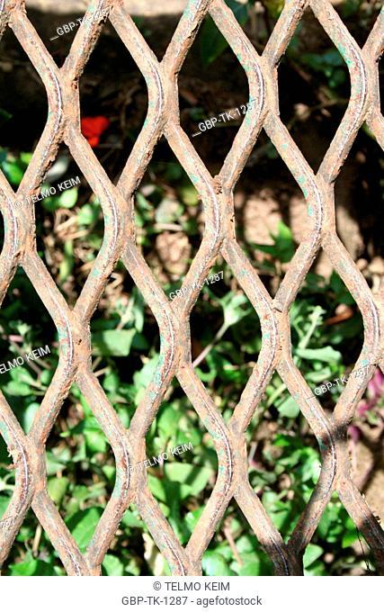 Iron fence, Gramado, Rio Grande do Sul, Brazil