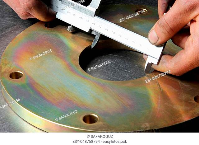 Pulley and Vernier metal sliding caliper