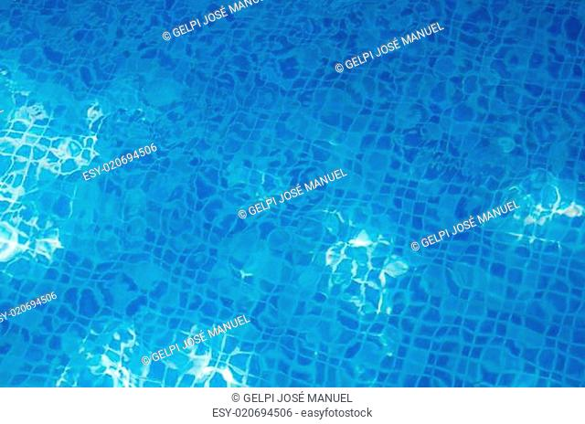 water of swimming pool