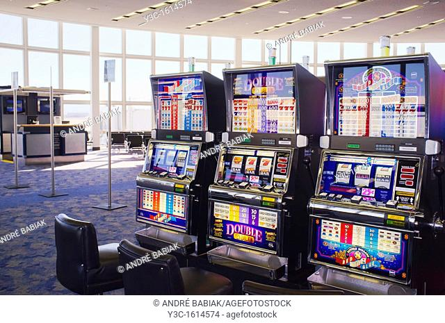 Casino Slot Machines at McCarran Airport Las Vegas