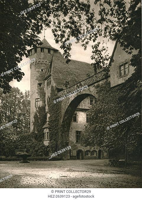 'Michelstadt (Odenwald) - Schloss Furstenau', 1931. Artist: Kurt Hielscher