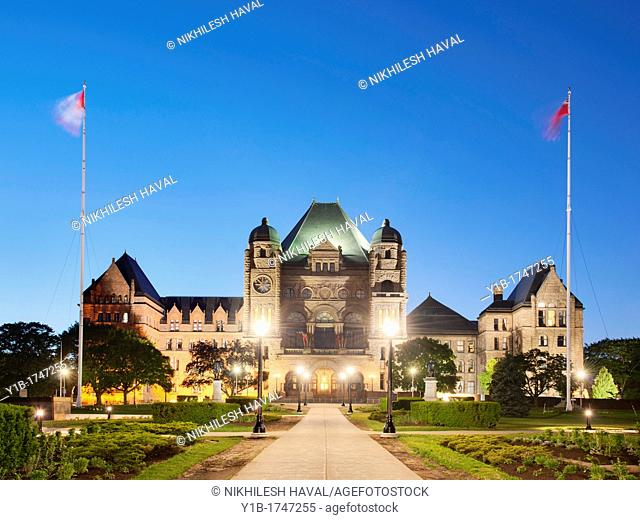 Ontario Legislative Assembly Legislature, Toronto